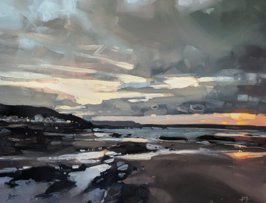 Westward Ho 46 x 61 cm oil on board