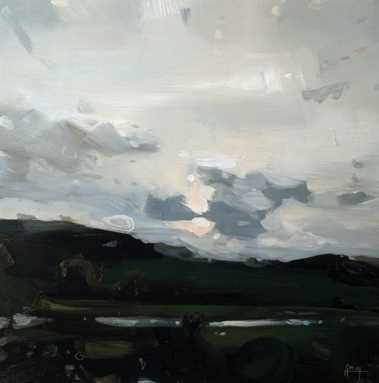 Evening Clouds20 x 29 cm oil on board