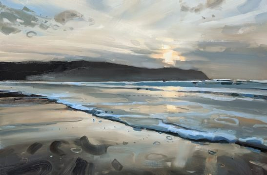 Putsborough 60 x 90 cm oil on board